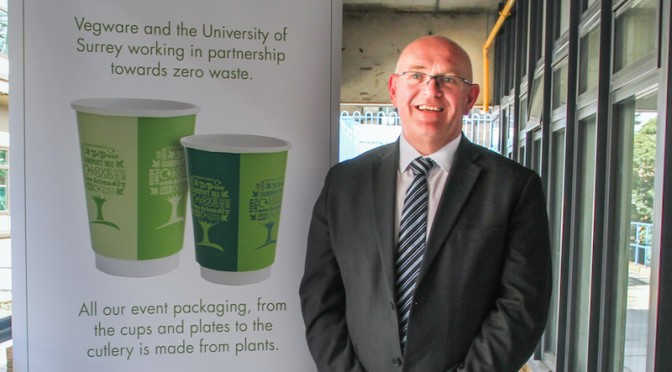 University Surrey Simon Booth Vegware Green Tree