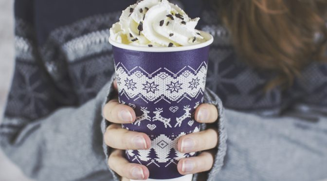 christmas jumper cups vegware compostable eco packaging