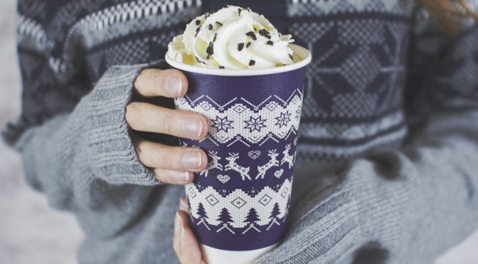 vegware compostable packaging eco friendly christmas jumper cups