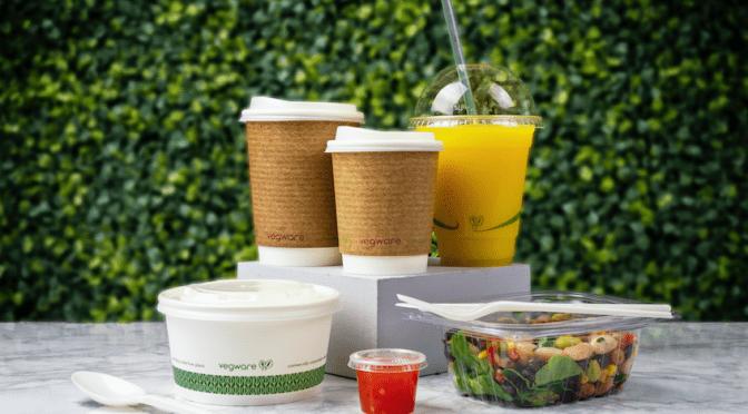 Vegware biodegradable compostable PLA CPLA bioplastic compost plastic