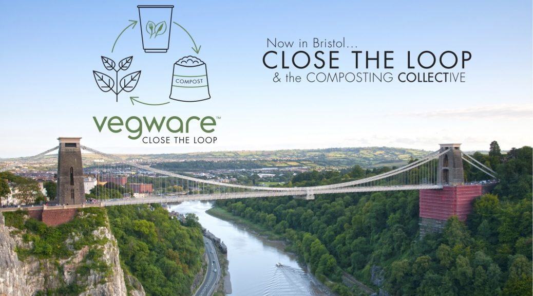 Bristol Vegware close the loop compost composting disposables single use plastic biodegradable collection waste recycling eco